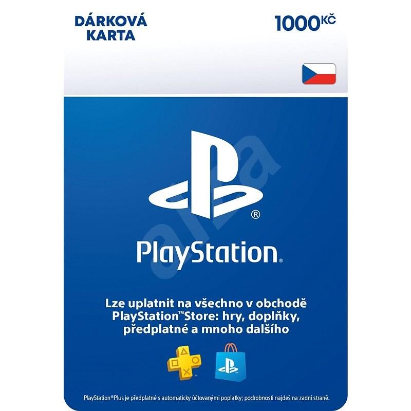 PlayStation Store - Kredit 1000 Kč - CZ Digital - Dobíjecí karta