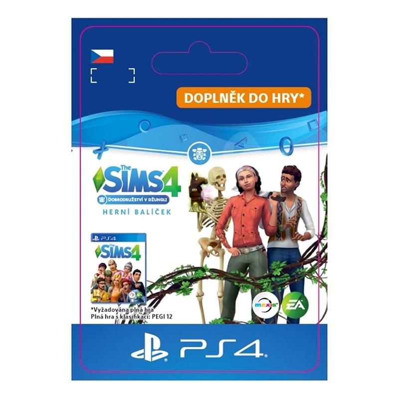 The Sims 4 Roční období, Dobrodružství v jungli, Strašidelné věcičky Bundle- PS4 CZ Digital - Herní doplněk