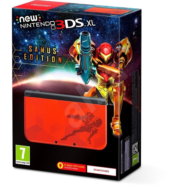 Nintendo NEW 3DS XL Samus Edition - Herní konzole
