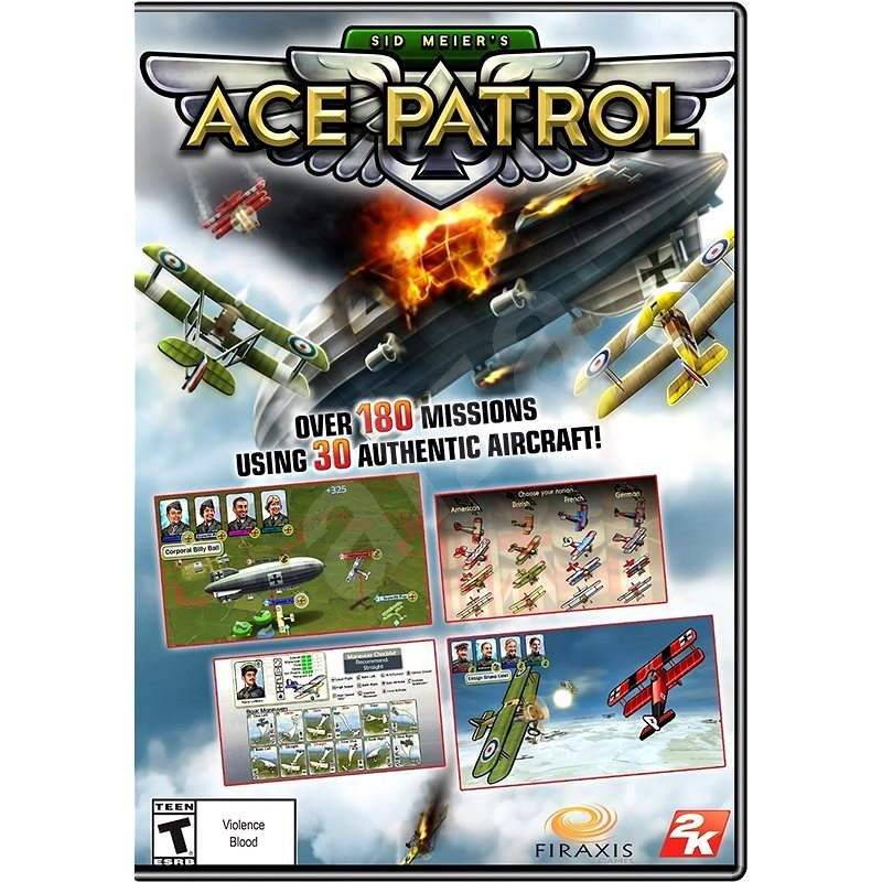 Ace Patrol - Hra na PC