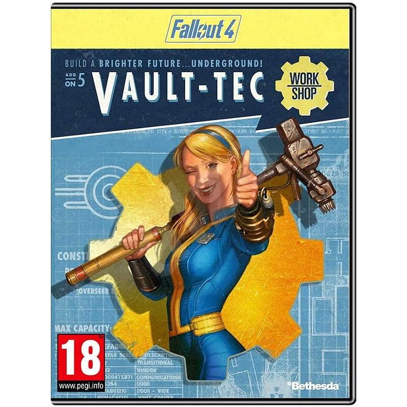 Fallout 4 Vault-Tec Workshop DIGITAL - Herní doplněk