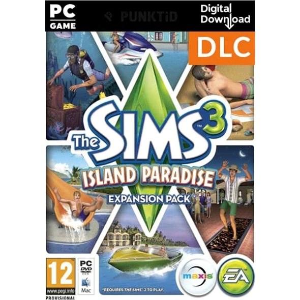 The Sims 3 Tropický ráj (PC) Digital - Herní doplněk