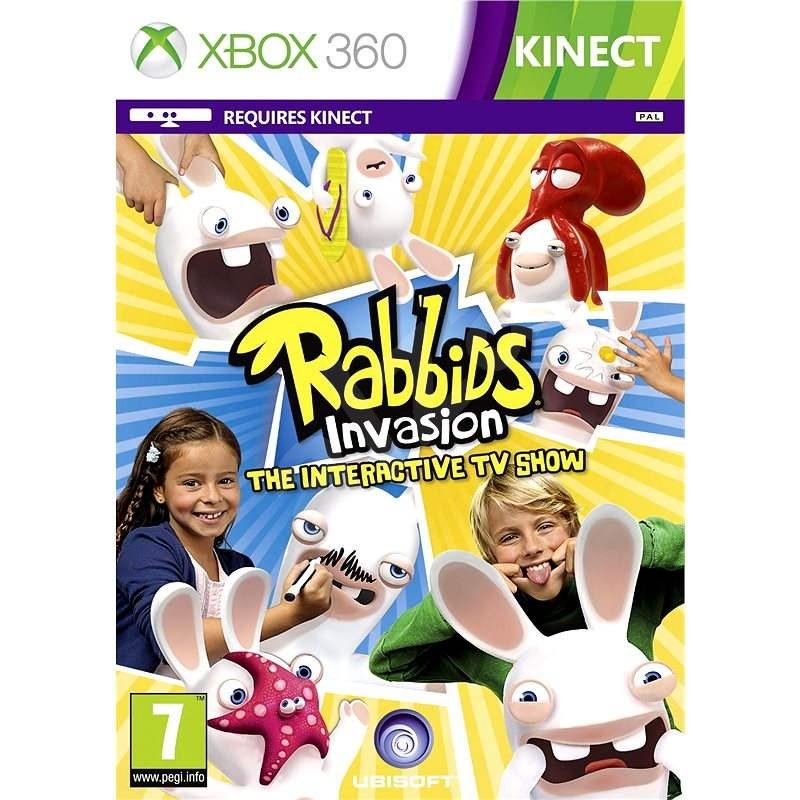 Rabbids Invasion -  Xbox 360 - Hra na konzoli