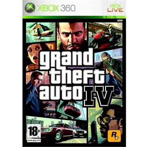 Grand Theft Auto IV -  Xbox 360 - Hra na konzoli
