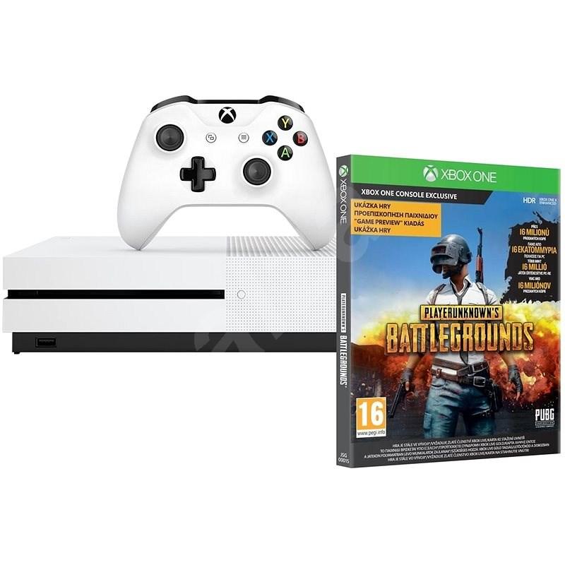 Xbox One S 1TB + Playerunknown's Battleground - Herní konzole