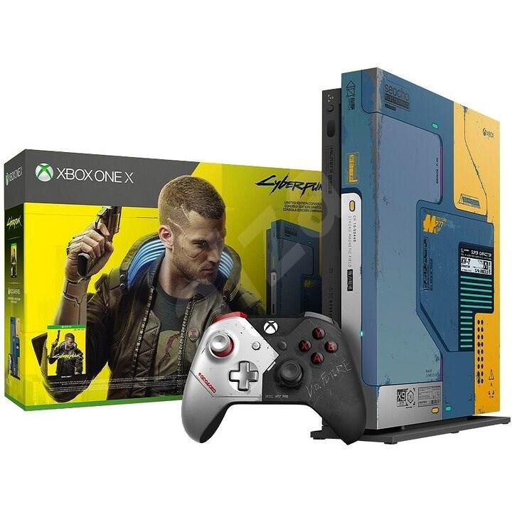 Xbox One X + Cyberpunk 2077 Limited Edition - Herní konzole
