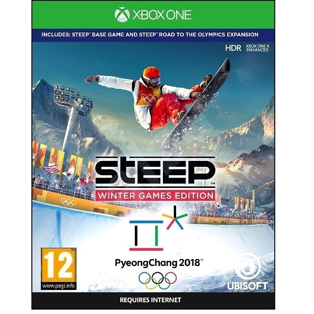 Steep Winter Games Edition - Xbox One - Hra na konzoli