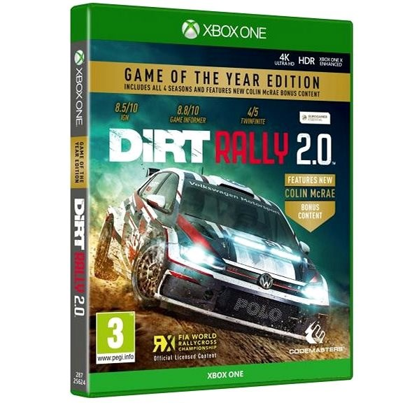 DiRT Rally 2.0 - Game of the Year Edition - Xbox One - Hra na konzoli