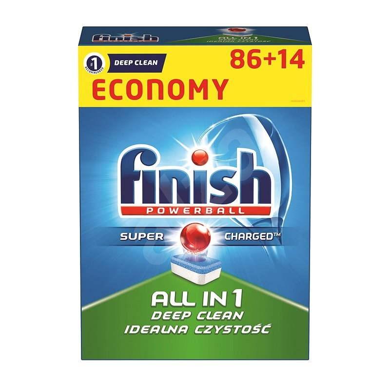 FINISH All in One 86 + 14 ks - Tablety do myčky