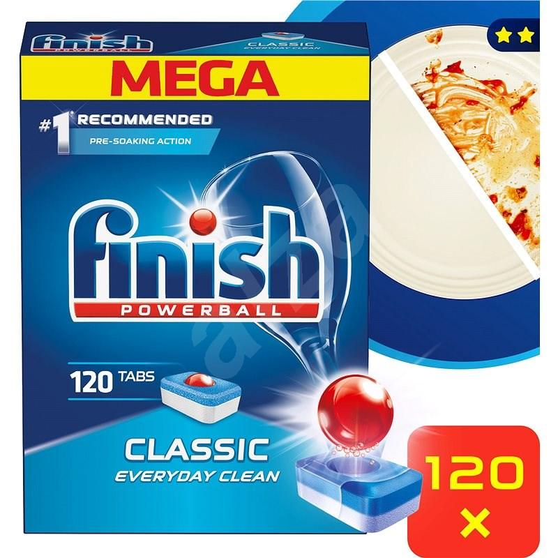 FINISH Classic 120 ks - Tablety do myčky