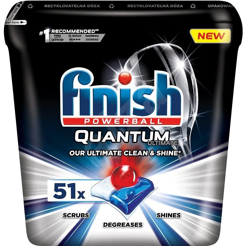 FINISH Quantum Ultimate 51 ks - Tablety do myčky