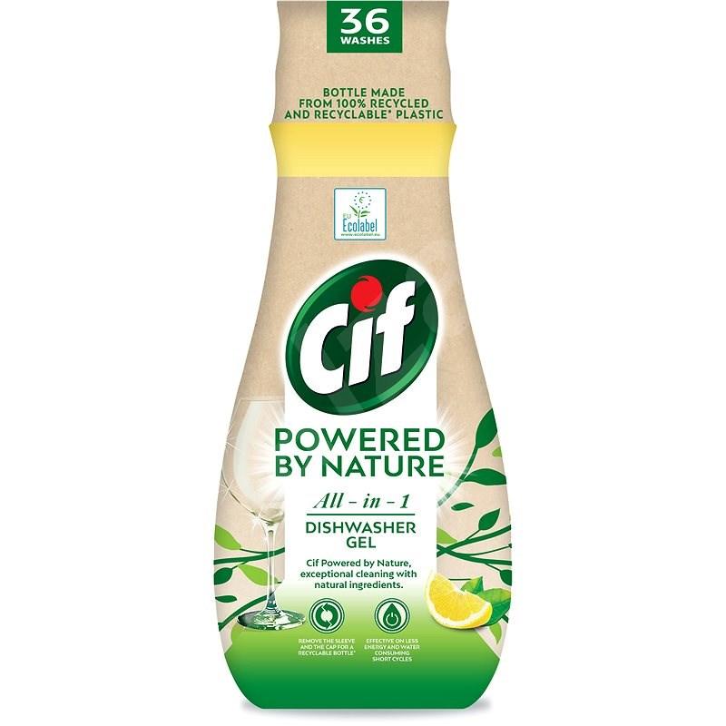 CIF All in 1 Nature Gel na nádobí 640 ml - Eko gel do myčky