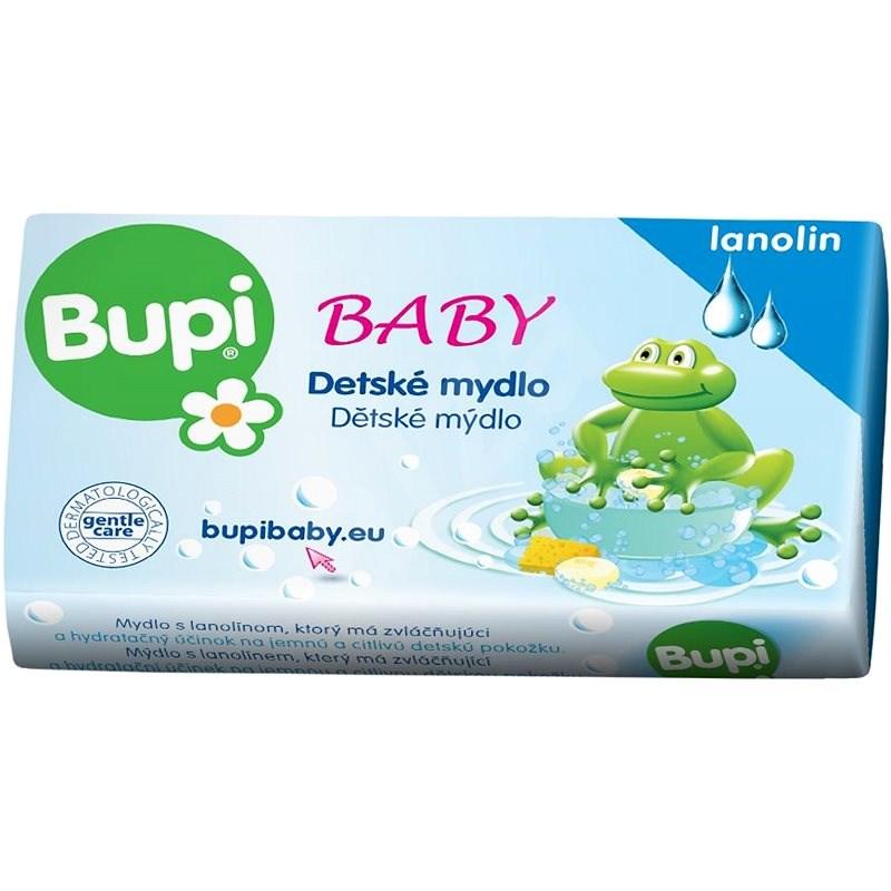 BUPI Baby Dětské mýdlo s lanolínem 100 g - Dětské mýdlo