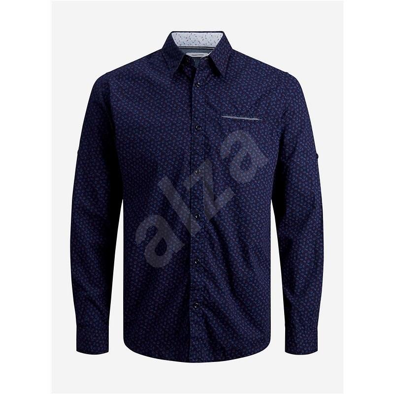 Tmavě modrá vzorovaná košile Jack & Jones Matthew S - Košile