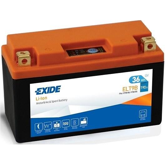 Exide ELT9B Li-Ion baterie 0,7kg, 36 (Wh) - Motobaterie