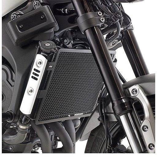 GIVI PR 7408 Radiator Cover Ducati Multistrada Enduro 1200 (16)/950 (17), Black Lacquered - Radiator Guard