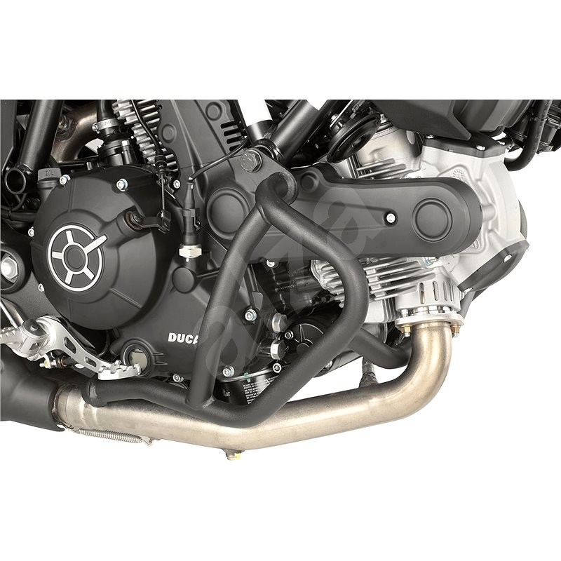 GIVI TN 7407 padací rámy Ducati - Scrambler 800 (15-16)/Ducati - Scrambler 400 (16), černé - Padací rám