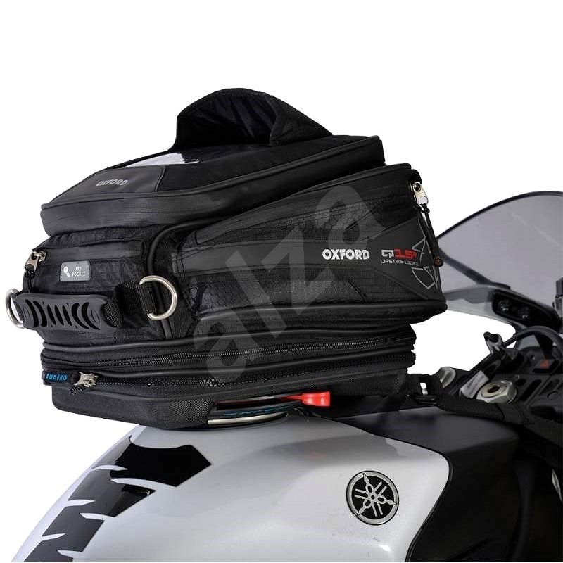 OXFORD Q15R QR, with quick-release system on tank caps, volume 15l - tank bag