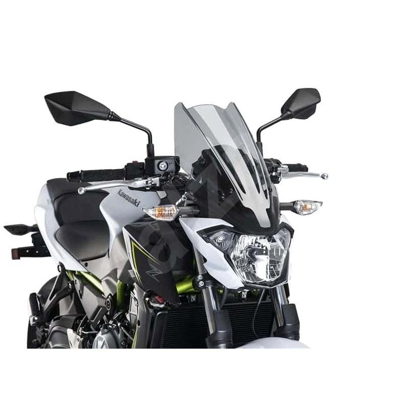 PUIG NEW. GEN TOURING kouřová pro KAWASAKI Z 650 (2017-2019) - Plexi na moto