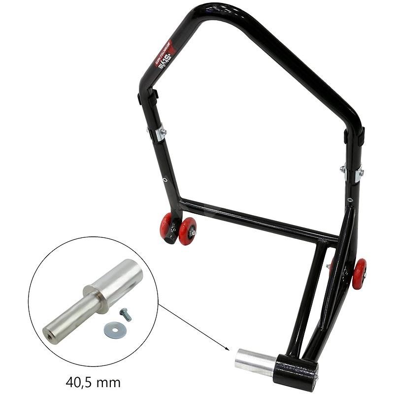 M-Style zadní stojan pro letmé uložení kola - Rozměr trnu : 40.5 mm - Stojan