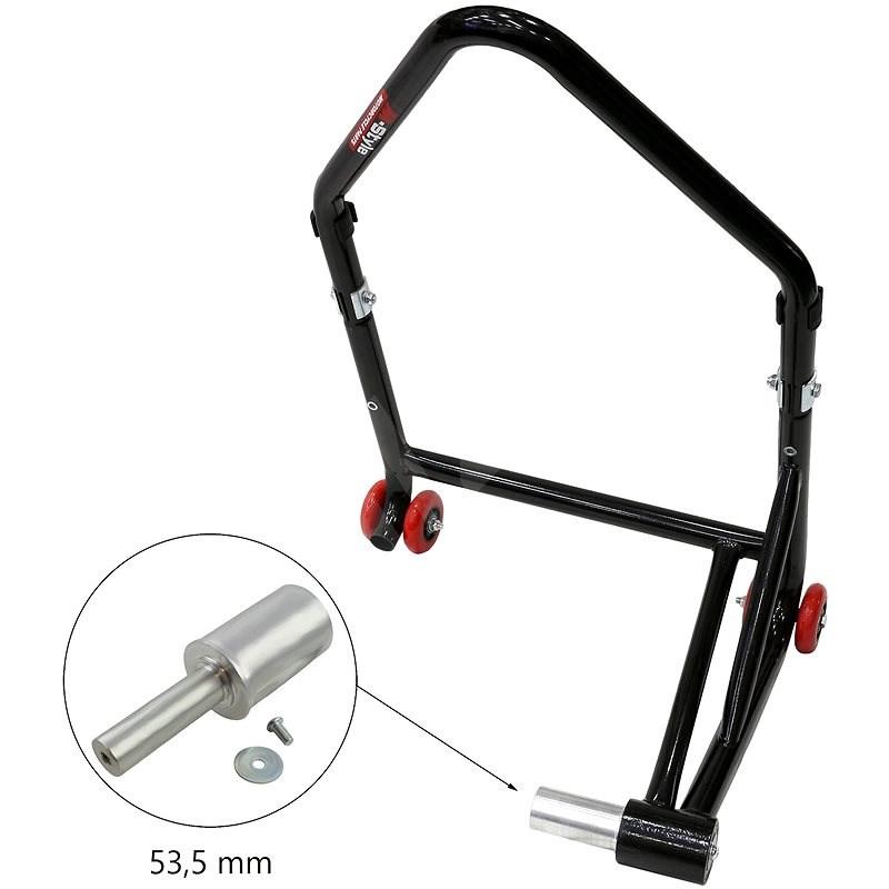 M-Style zadní stojan pro letmé uložení kola - Rozměr trnu : 53.5 mm - Stojan