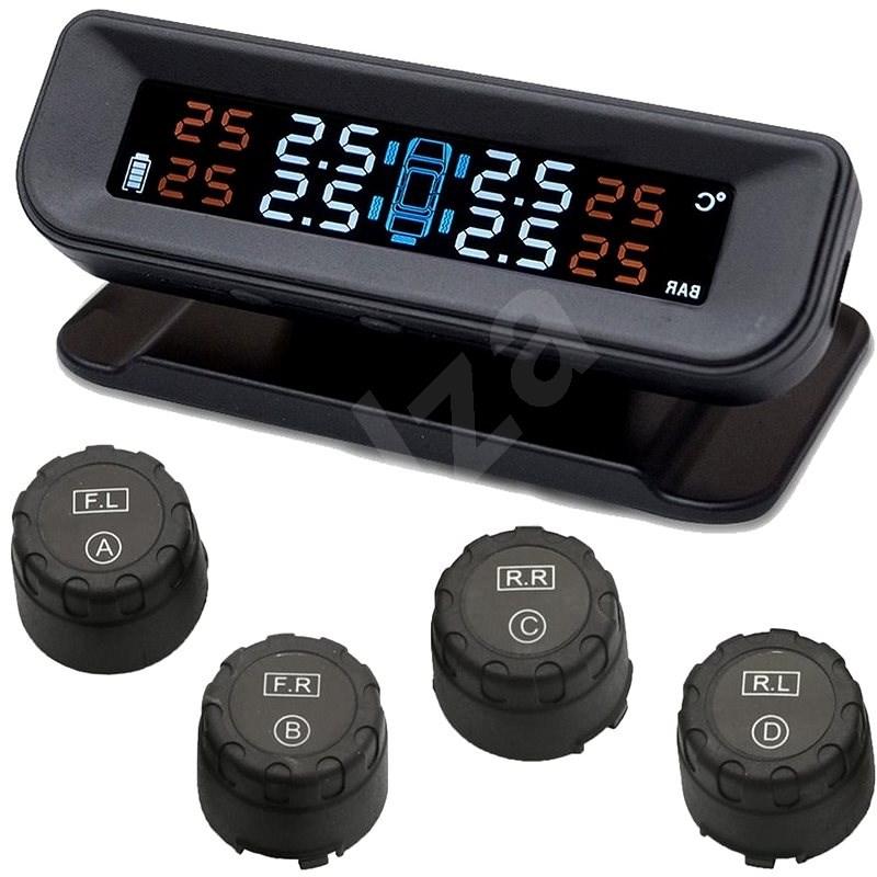 M-Style TPMS snímače tlaku v pneu automobilu- externí - Měřič tlaku