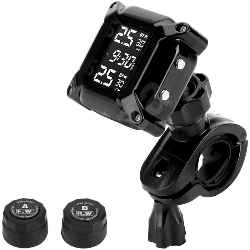 M-Style TPMS snímače tlaku v pneu motocyklu - externí - Měřič tlaku