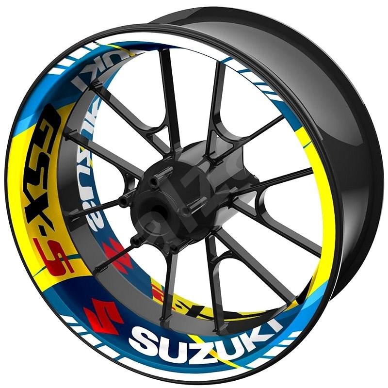 M-Style jednodílné polepy na kola SUZUKI GSX-S - Polepy na kolo