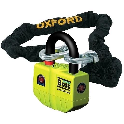 OXFORD Boss Alarm (délka 1,5 m) - Řetězový zámek