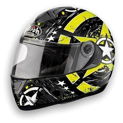 AIROH ASTER-X SKULL ASSK17 - integrální helma L - Helma na motorku