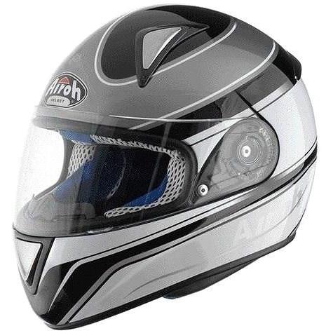 AIROH LEOX TWIST LXTW16 - integrální šedá helma XL - Helma na motorku