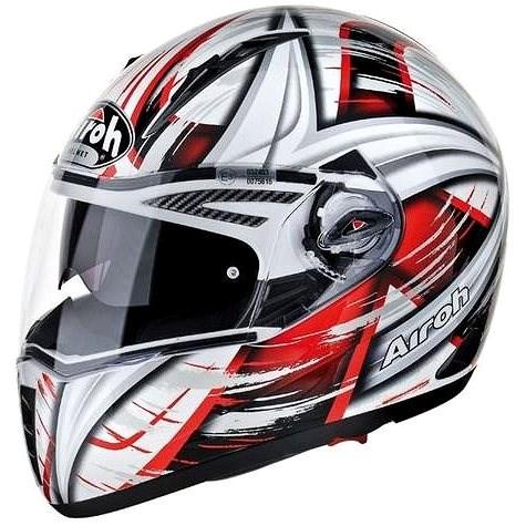 AIROH PIT ONE XR ROLLER PTXRO55 - integrální červená helma XL - Helma na motorku