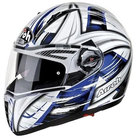AIROH PIT ONE XR ROLLER PTXRO18 - integrální modrá helma L - Helma na motorku