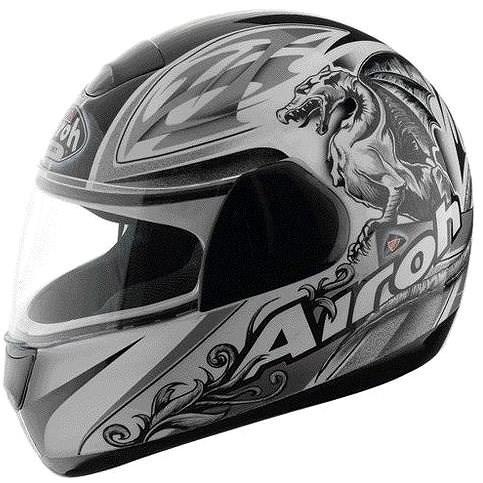 AIROH SPEED FIRE GRIFO SPF17 - integrální šedá helma XXL - Helma na motorku