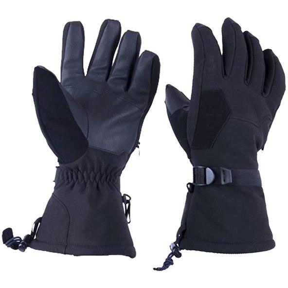 CAPPA RACING Everest XXL textilní černé - Rukavice na motorku