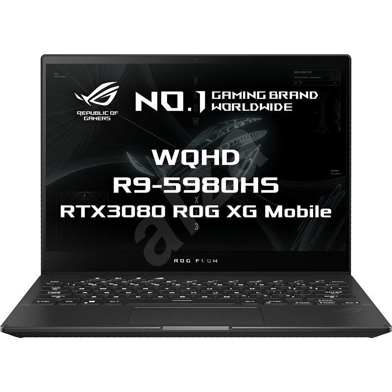 Asus ROG Flow X13 GV301QH-K5252T Off Black - Herní notebook