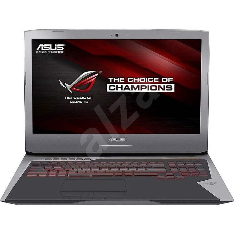 ASUS ROG G752VS-BA163T kovový šedý - Notebook