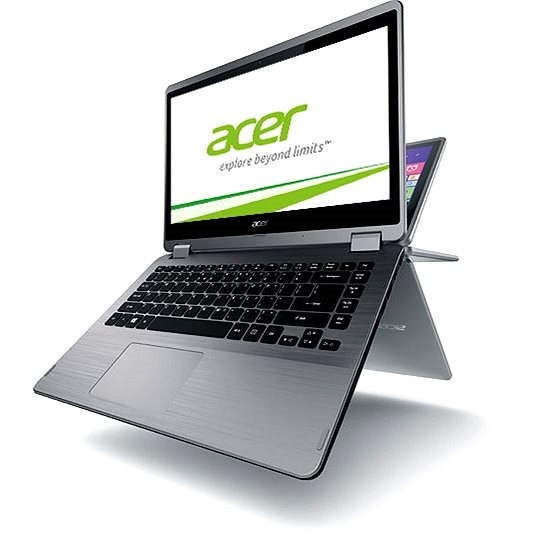 Acer Aspire R14 Silver Touch - Tablet PC