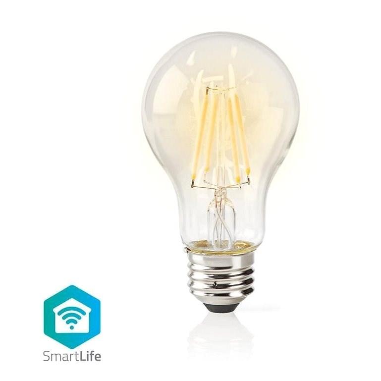 NEDIS Wi-Fi chytrá žárovka E27 WIFILF10WTA60 - LED žárovka
