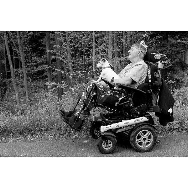 Alsa - osobní asistence pro pacienta s amyotrofickou laterální sklerózou - Charitativní projekt