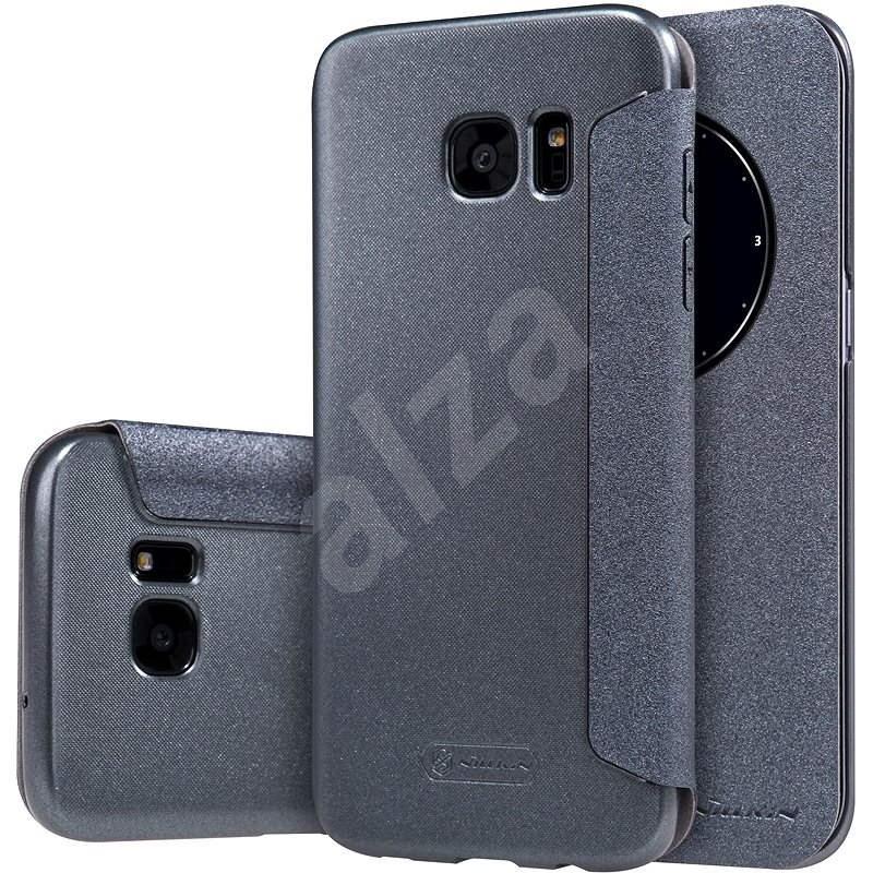 Nillkin Sparkle S-View pro Samsung G935 Galaxy S7 edge černé - Pouzdro na mobil
