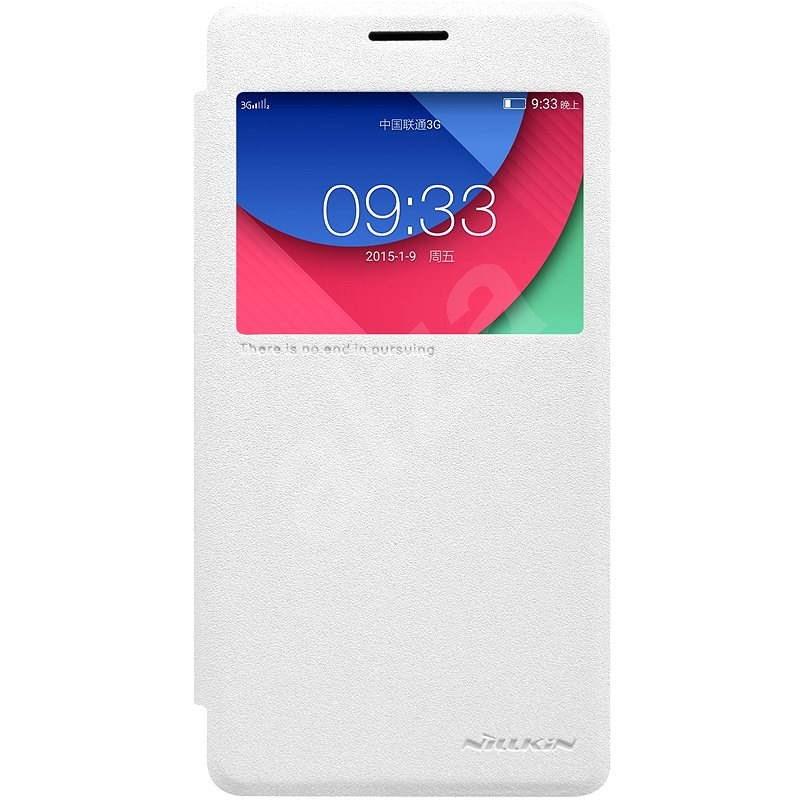Nillkin Sparkle S-View pro Lenovo P1 bílé - Pouzdro na mobil