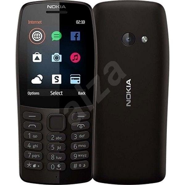 Nokia 210 černá - Mobilní telefon