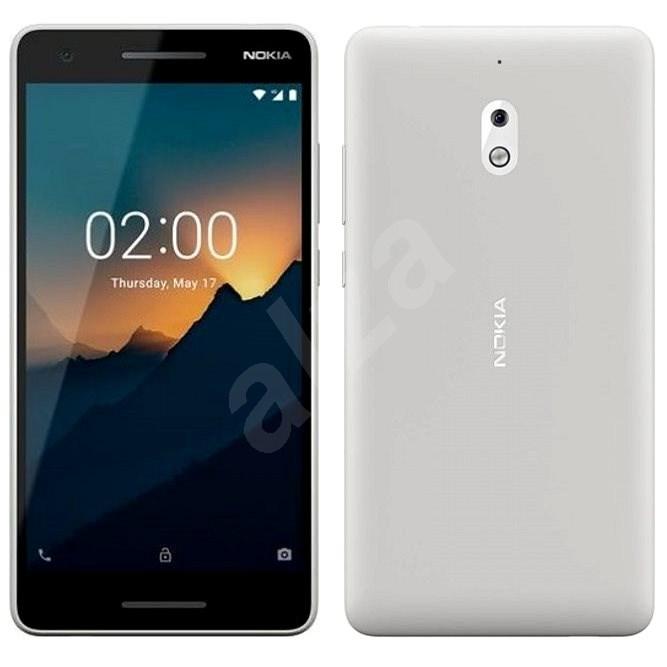 Nokia 2.1 Single SIM šedý - Mobilní telefon