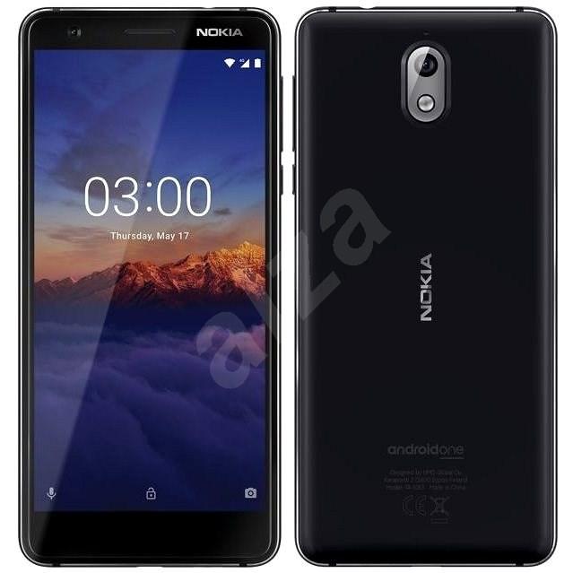 Nokia 3.1 Dual SIM černý - Mobilní telefon