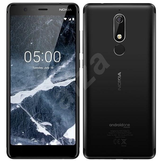Nokia 5.1 Single SIM černý - Mobilní telefon
