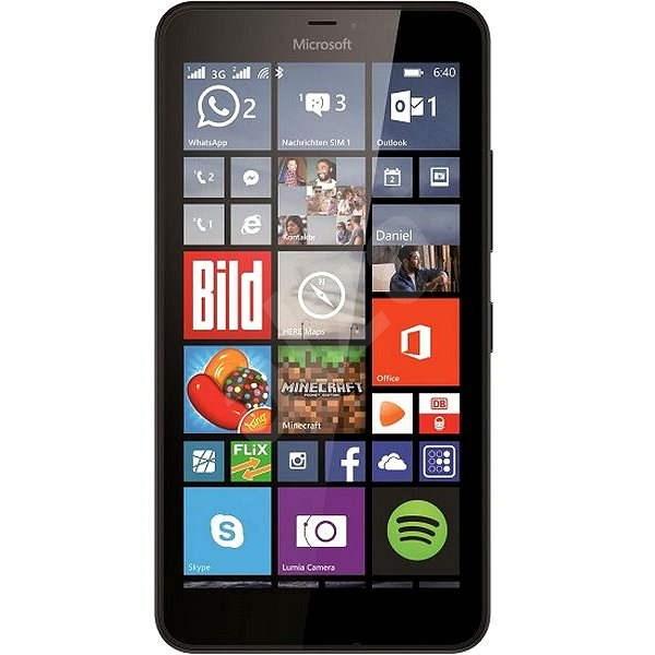 Microsoft Lumia 640 XL černá Dual SIM - Mobilní telefon