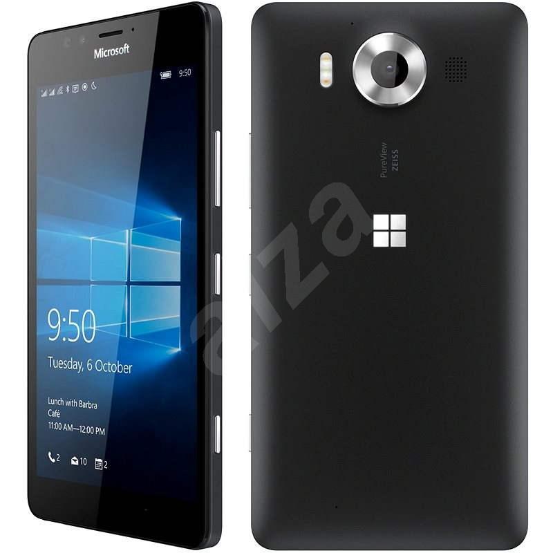 Microsoft Lumia 950 LTE černá Dual SIM - Mobilní telefon