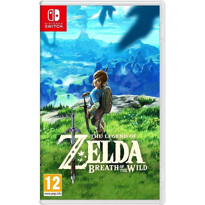 The Legend of Zelda: Breath of the Wild - Nintendo Switch - Hra na konzoli