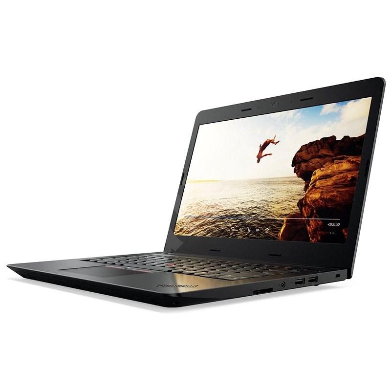 Lenovo ThinkPad E470 Black - Notebook